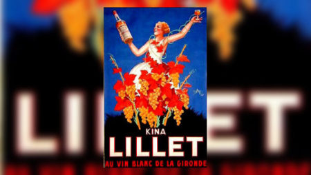A 1930s poster advertising Kina Lillet