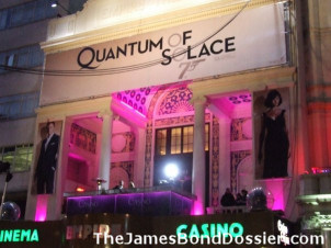 The Quantum of Solace world premiere in London's Leicester Square