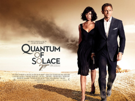 Quantum of Solace quad poster