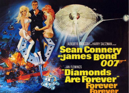 diamonds-are-forever-poster-450x324 - James Bond 25  April 8 2020 - Showbiz & Celebrity