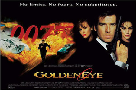 goldeneye-poster-450x299 - James Bond 25  April 8 2020 - Showbiz & Celebrity