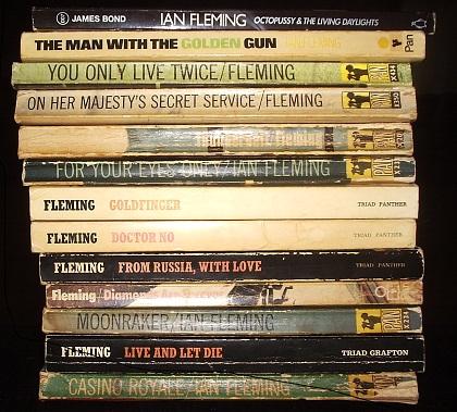 james bond books in order
