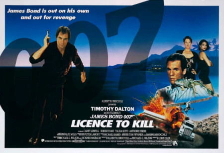 licence-to-kill-poster-450x307 - James Bond 25  April 8 2020 - Showbiz & Celebrity