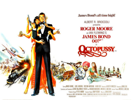 octopussy-poster-450x339 - James Bond 25  April 8 2020 - Showbiz & Celebrity