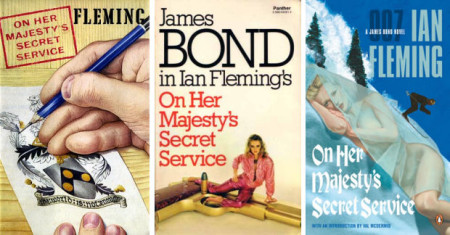 On Her Majesty's Secret Service Covers