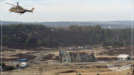 Skyfall Photos from the Monastery set at Hankley Common [The