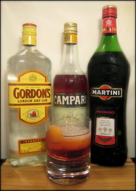 James Bond Negroni