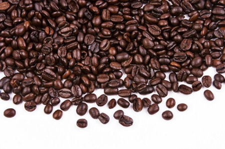 Coffee Bean Close Up