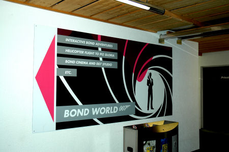 Bond World at Piz Gloria