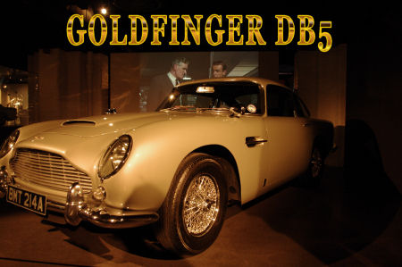 Aston Martin To Build 25 Db5s Complete With Goldfinger Accessories