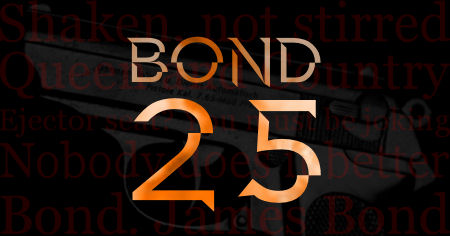 Bond25logo-450x236 - James Bond 25  April 8 2020 - Showbiz & Celebrity