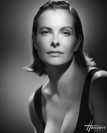 PORTRAIT OF CAROLE BOUQUET FAMOUS FRENCH ACTRESS