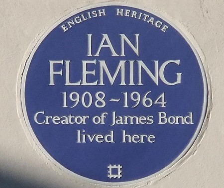 Ian Fleming blue plaque
