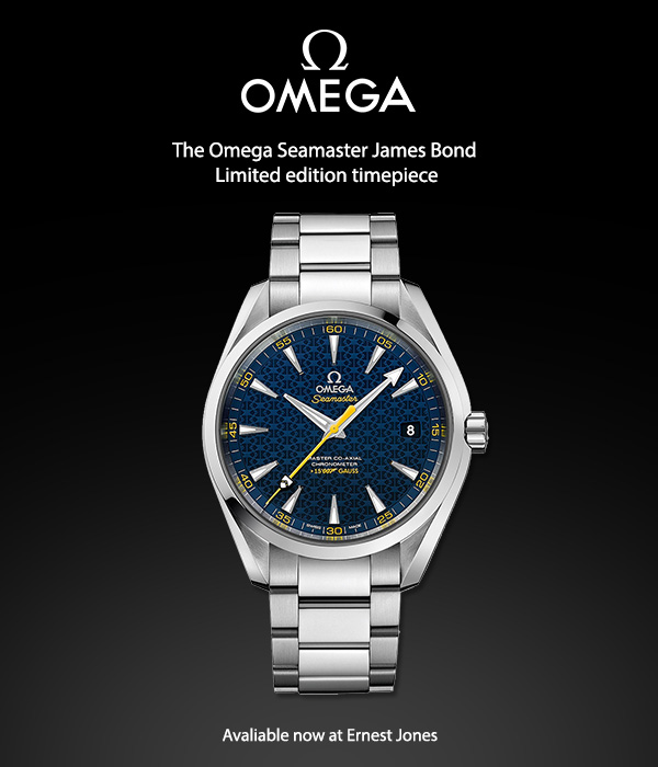 Limited Edition 007 Omega now available in UK
