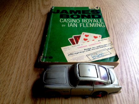 DB5 and Casino Royale paperback