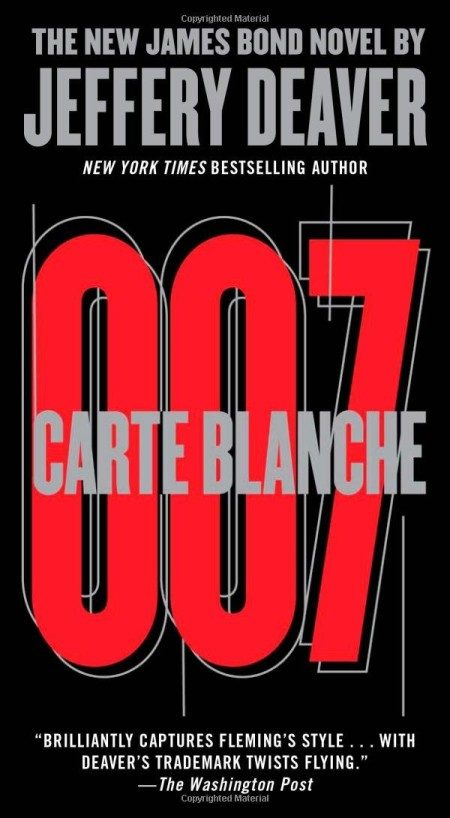 Carte Blanche US cover