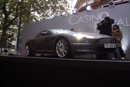 Aston Martin in Leicester Square