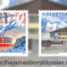 Piz Gloria 50th anniversary stamps